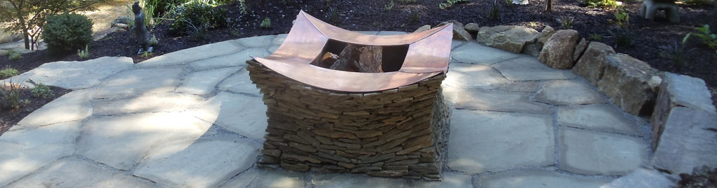 Firepit by Turpin Landscaping