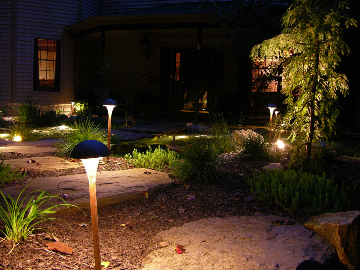 ... Outdoor lighting by Turpin Landscaping & Creative Landscape Gift Ideas - Turpin Landscape Design/Build