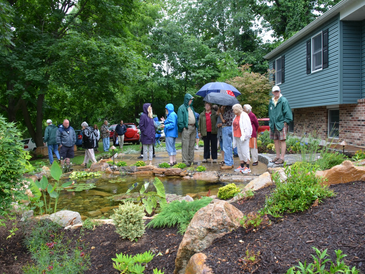 Garden tour 2015 was a huge success turpin landscape for Garden design 2015