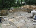 Hardscape maintenance by Turpin Landscaping