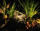 Pond Lighting by Turpin Landscaping