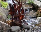 Pondless waterfall by Turpin Landscaping